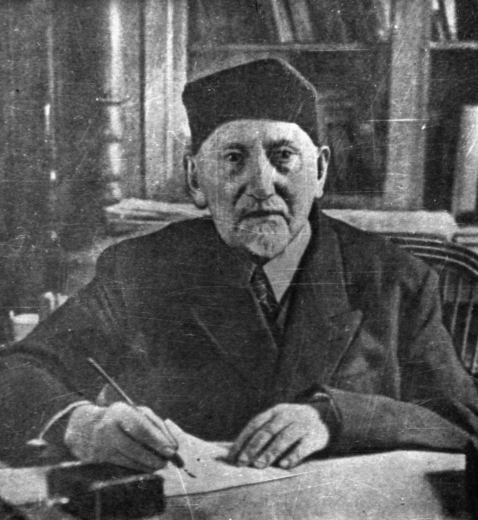 Грузинский историк, археолог Эквтиме Такаишвили