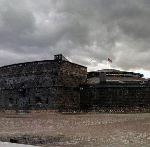 Черный замок в Гюмри
