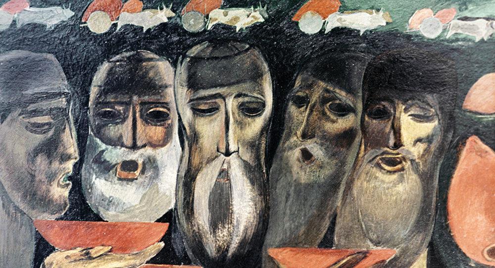 მერაბ ბერძენიშვილის ნახატის რეპროდუქცია