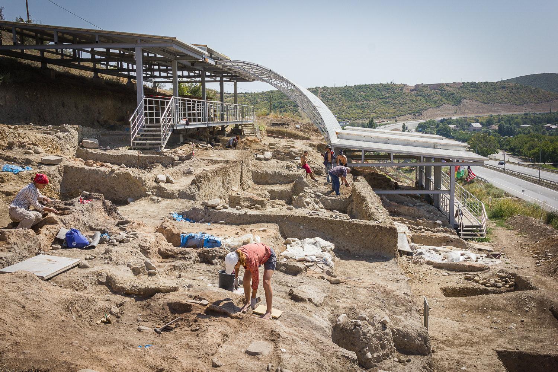 Археологические раскопки в Игоети