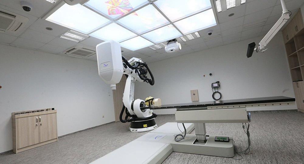 Операционная в Центре высоких медицинских технологий в Грузии