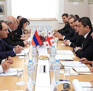 Встреча представителей МИД Грузии и Армении