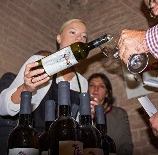 Дегустация грузинских вин. Презентация новых винных погребов