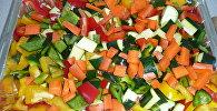 ბოსტნეულის სალათი - ვიტამინების წყარო