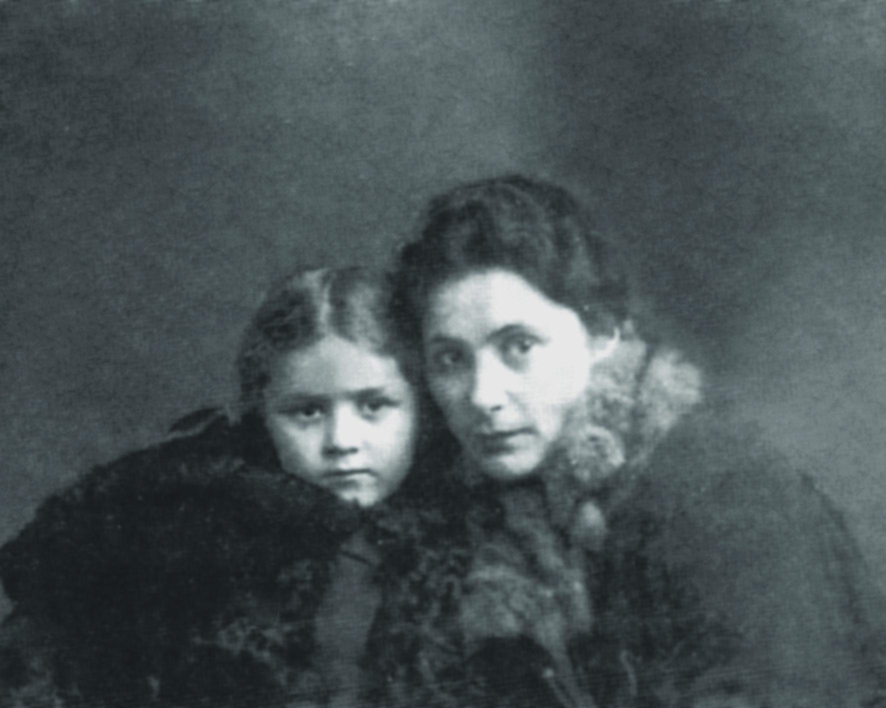Саломе Андроникашвили с дочерью
