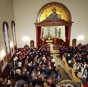 LIVE: Папа Римский Франциск посещает ассиро-халдейскую церковь в Тбилиси