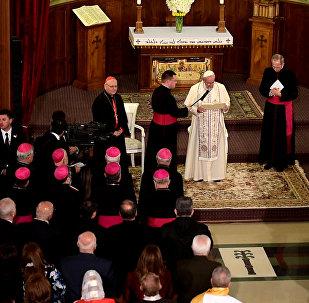 Папа Римский впервые посетил aссиро-халдейскую церковь