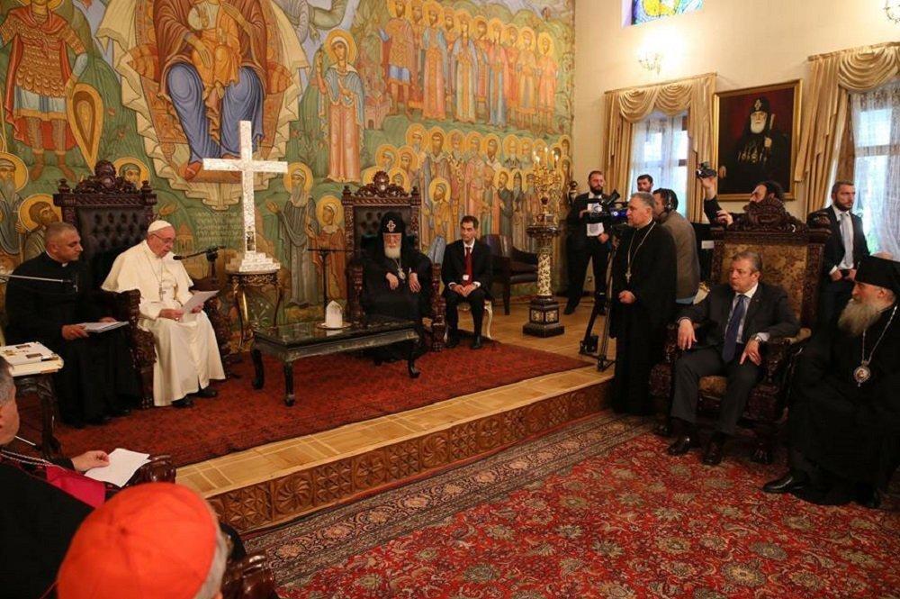 Папа Франциск и Илия Второй