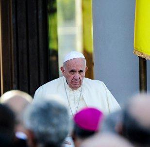 LIVE Папа Римский Франциск посетил Центр помощи Ордена камиллианцев в Тбилиси