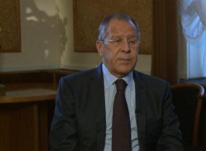 Глава МИД РФ Сергей Лавров о расследовании крушения МН17