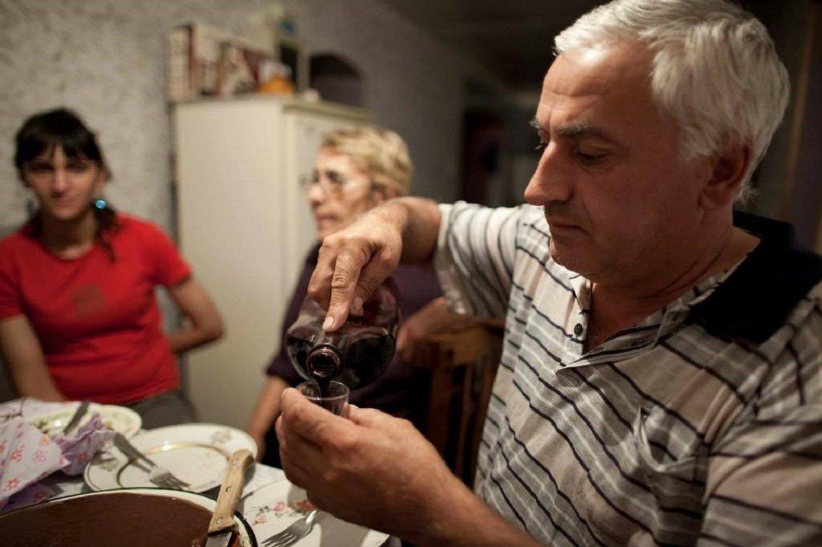 Традиции виноделия в Грузии, фото Томаса Вахе