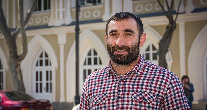 Паралимпийский чемпион Звиад Гогочури