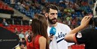 Нападающий сборной Грузии по баскетболу и испанского клуба Кутча Лабораль Торнике Шенгелия