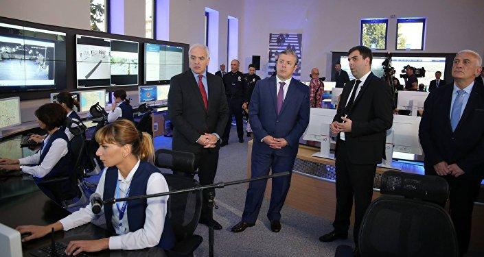 Георгий Мгебришвили и Георгий Квирикашвили