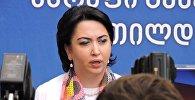 Депутат парламента Грузии Эка Беселия
