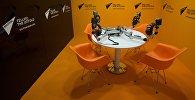 Студия международного информационного агентства и радио Sputnik.