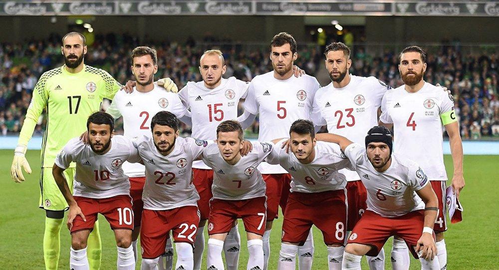 Сборная Грузии сыграла вничью сосборной Уэльса