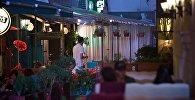 Уличные кафе в Тбилиси