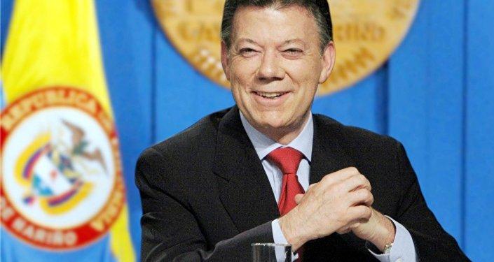 კოლუმბიის პრეზიდენტი ხუან მანუელ სანტოსი
