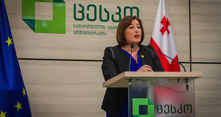Повторные выборы вГрузии проходят при высокой явке