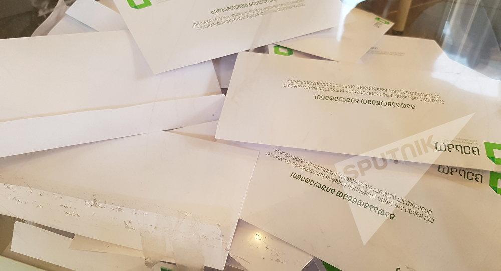 Впарламент Грузии прошла партия Саакашвили