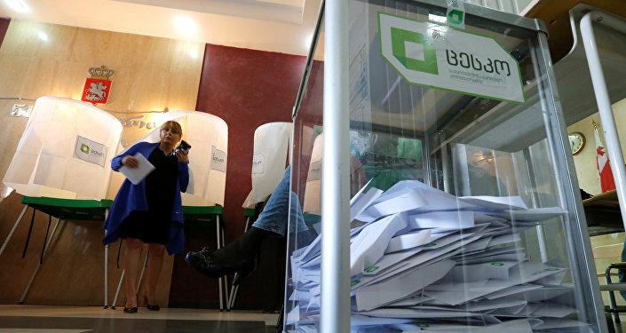 Парламентские выборы в Грузии
