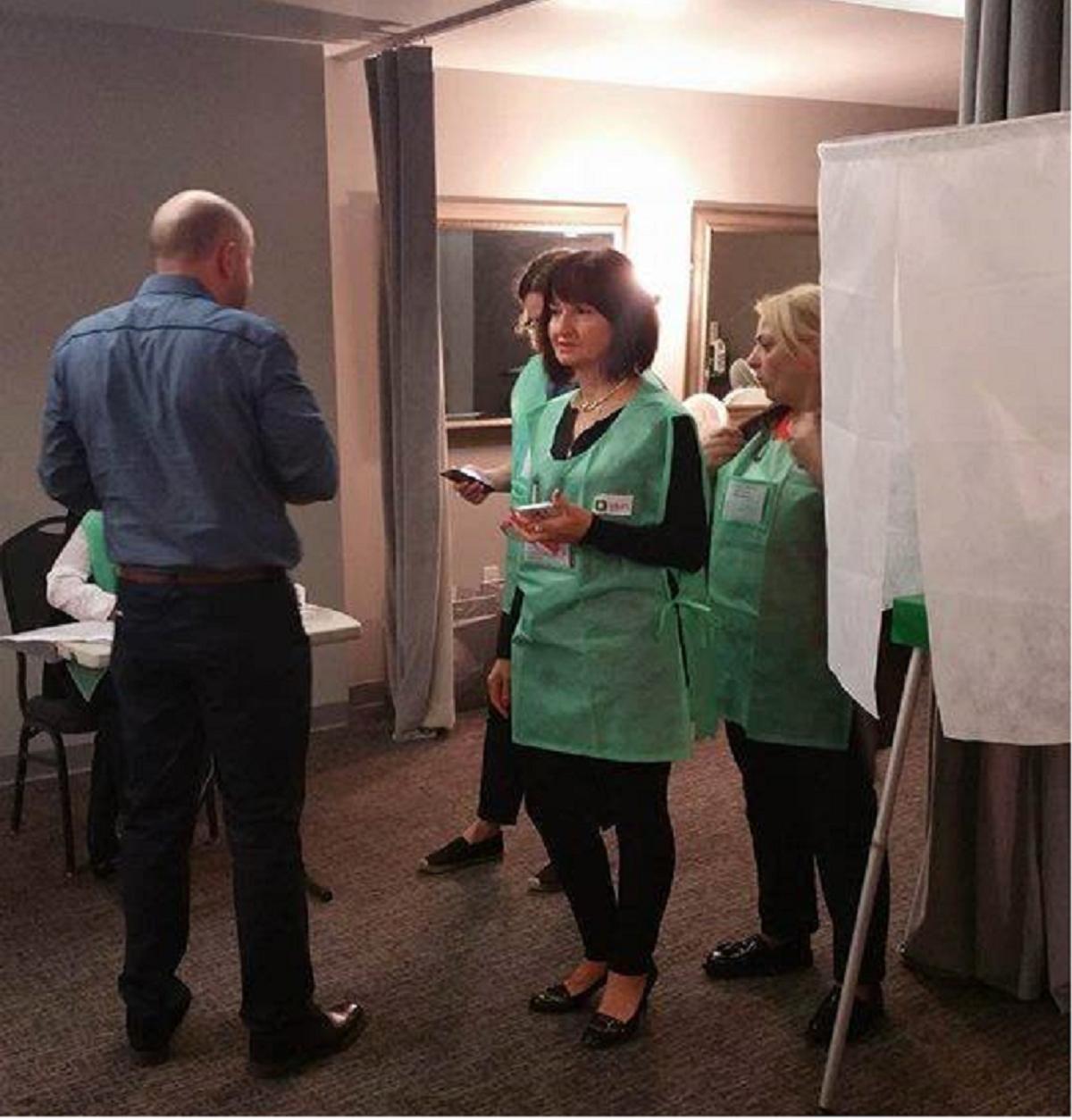 Явка напарламентских выборах вГрузии достигла 35%