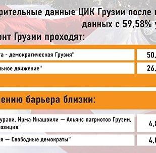ЦИК Грузии - 59,58%