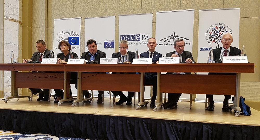 Международные наблюдатели признали выборы вГрузии конкурентными
