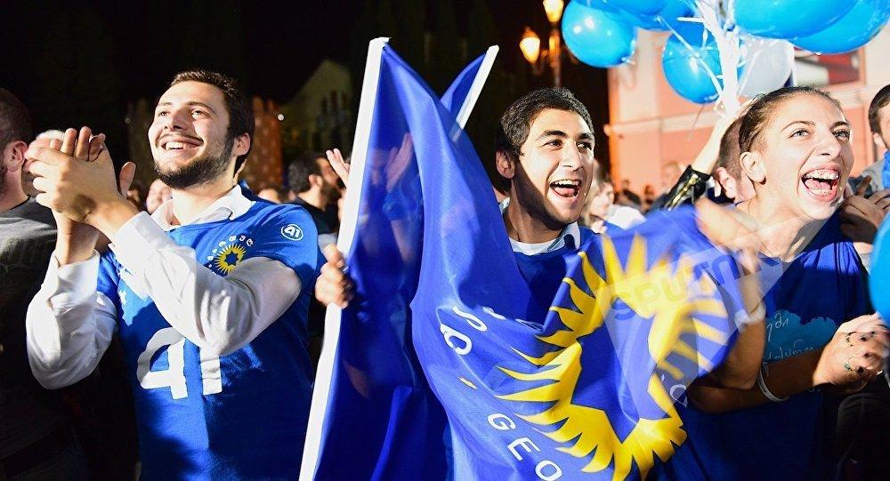 Активность избирателей навыборах вГрузии очень низкая