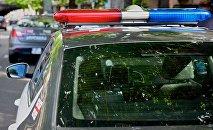 Полицейские машины на набережной