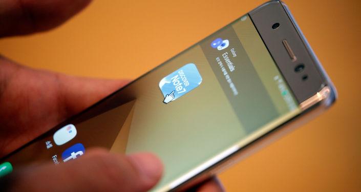 Смартфон Samsung Galaxy Note 7
