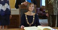 Новый президент Эстонии Керсти Кальюлайд