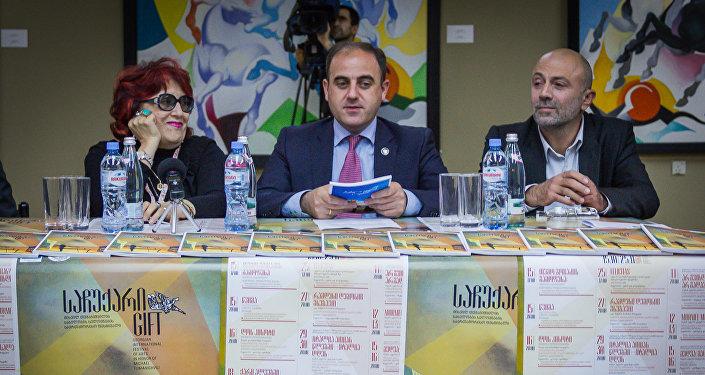 Кети Долидзе и Давид Нармания