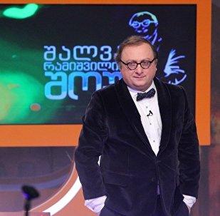 Телеведущий Шалва Рамишвили