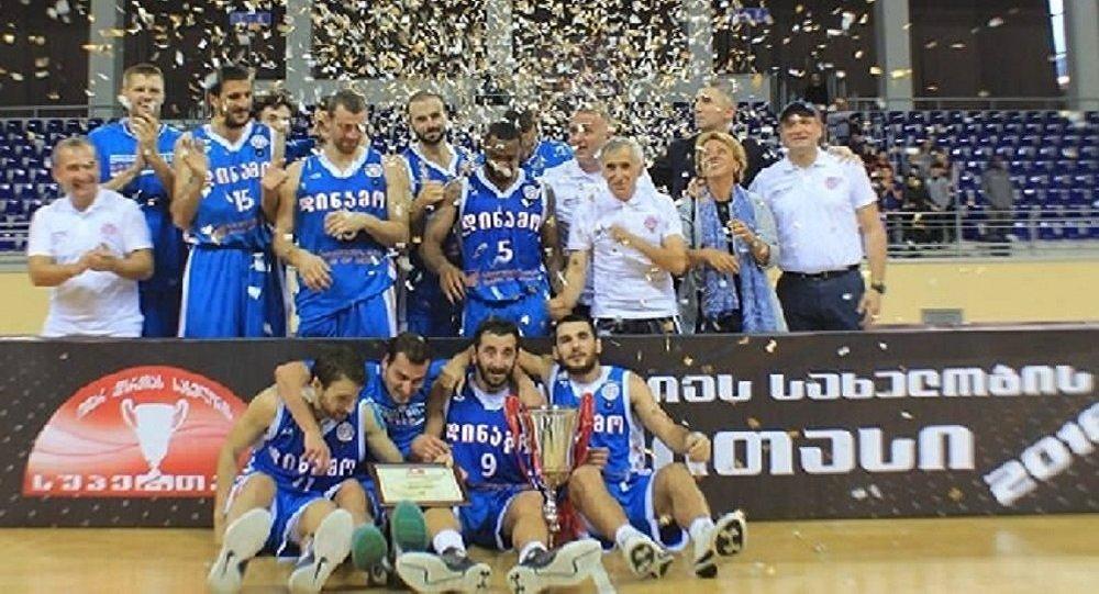 Баскетбол. Динамо Тбилиси - обладатель Суперкубка 2016