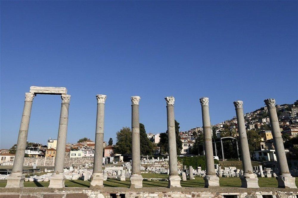 Античный город Смирна в Измире
