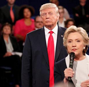 Дебаты Хиллари Клинтон и Дональда Трампа