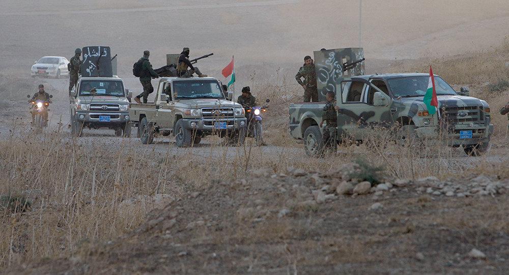 Правительственные силы атакуют позиции боевиков ИГ в городе Мосул