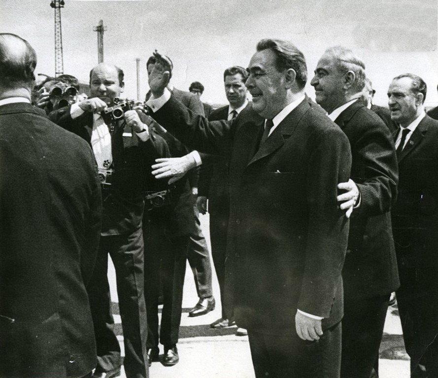 Первый приезд Леонида Брежнева в Грузию в 1966-м году