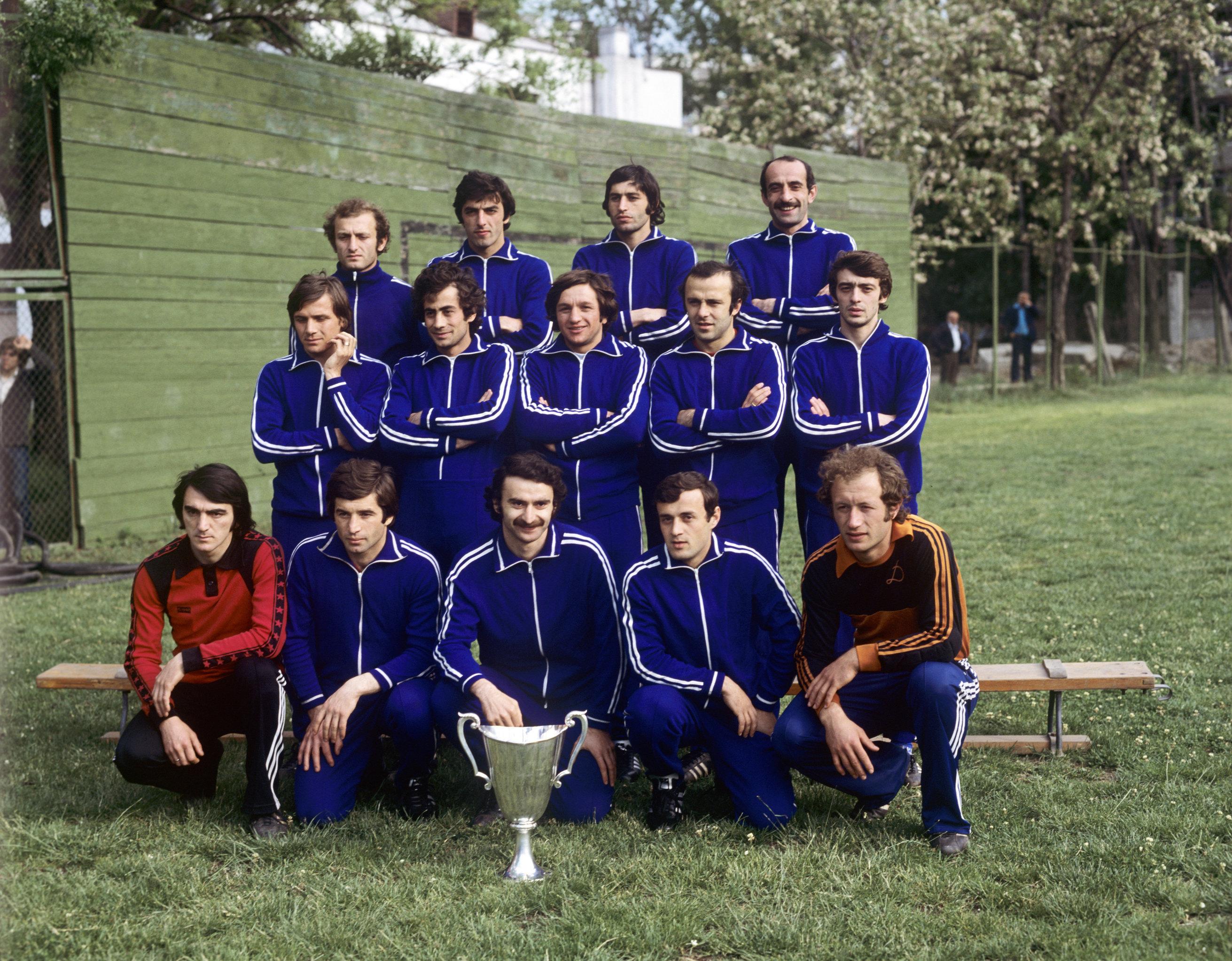 Футбольная команда Динамо (Тбилиси) - обладатель Кубка обладателей кубков (1981 год).