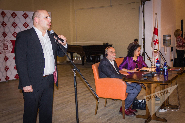 Борис Акунин на встрече с читателями