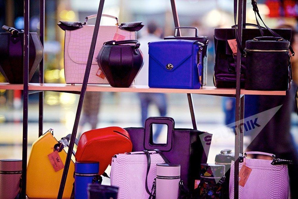 Женские сумочки ручной работы, изготовленные одним из грузинских дизайнеров