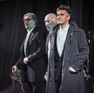 Спектакль Театра Вахтангова собрал в Тбилиси полный зал