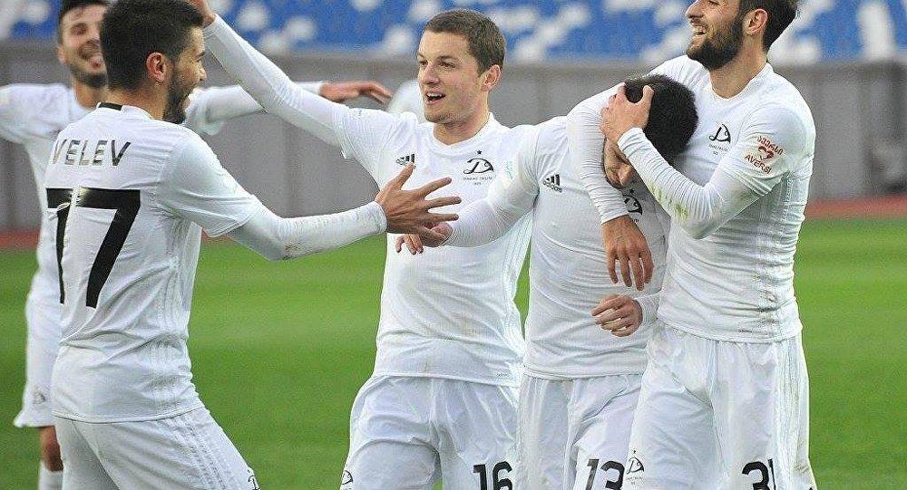 Победа Динамо Тбилиси над Локомотивом