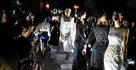 სუხიშვილების ბალეტის მოცეკვავეები ნინო რამიშვილის სამოსში გამოეწყვნენ