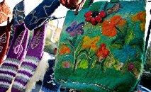 Грузинские сувениры из шерсти