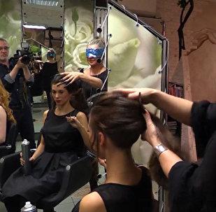 Секрет длинных ногтей, или Мастер-класс самого быстрого в мире парикмахера