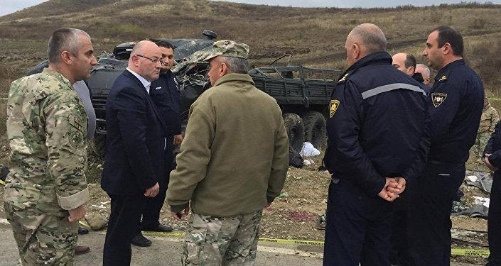 ВДТП своенным автомобилем вГрузии травмированы шесть солдат