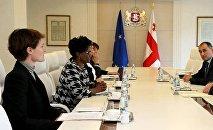 მსოფლიო ბანკის წარმომადგენლების შეხვედრა პრემიერ-მინისტრთან